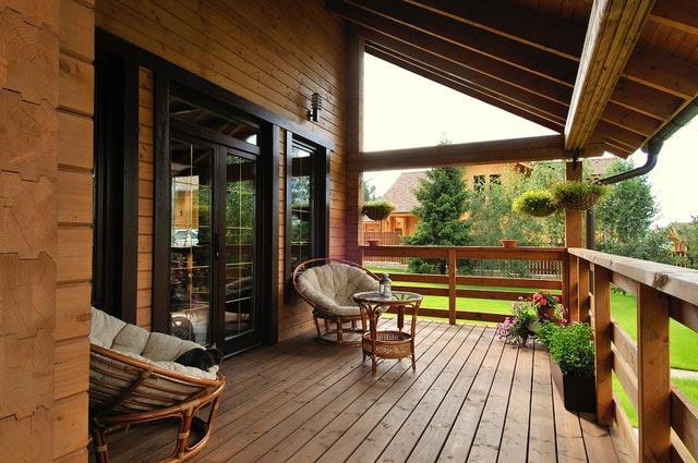 Porches y pérgolas de madera